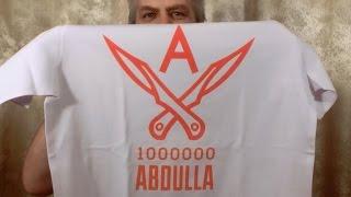 Футболки и кружка с логотипом 1000000Abdulla(, 2014-11-12T07:34:25.000Z)