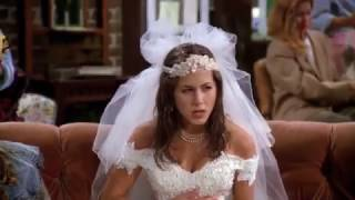Friends Season 1 (BS001) : Rachel enters Central Perk as a Bride