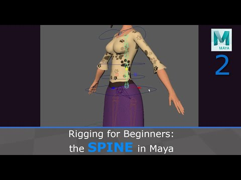 Rigging For Beginners: The Spine In Maya
