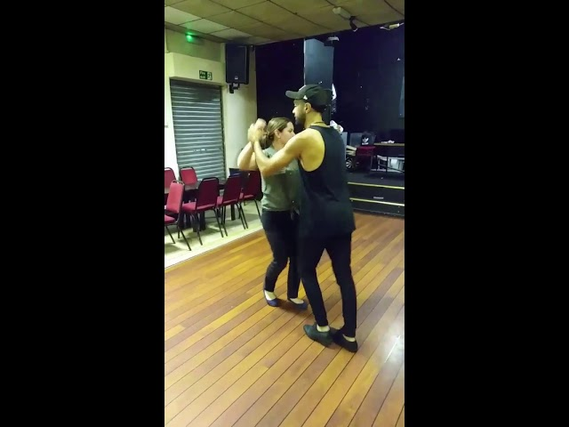 Cuban Salsa Class with Mariano Hombre in Newport -Los dos , Havana , Pasitos and Enchufla Doble