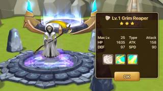 Summoners War: Sky Arena - Light Grim Reaper Runes