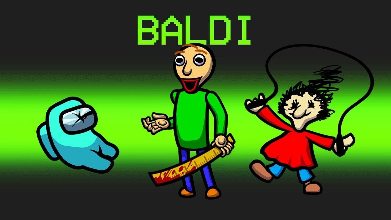 *NEW* SCARY BALDI Mod in Among Us