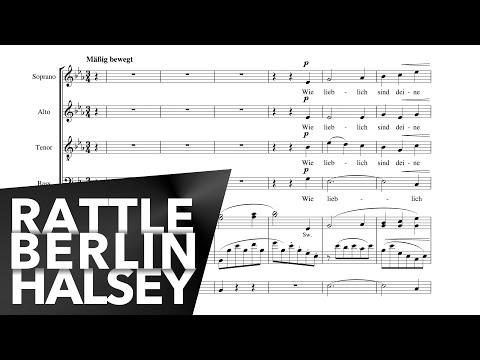Brahms Requiem - Wie lieblich sind deine Wohnungen - Berlin Philharmonic. Rattle