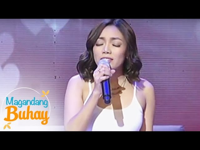 "Magandang Buhay: Jona sings ""I'll Never Love This Way Again"""