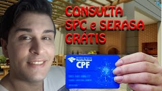 Como Fazer Consulta SPC e SERASA Gratis no CPF ATUALIZADO 2017 - Super Dicas FREE