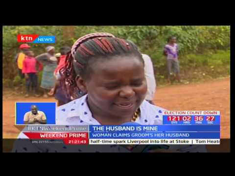 Drama in Nyeri as woman storms wedding claiming groom had been her husband for 10 years