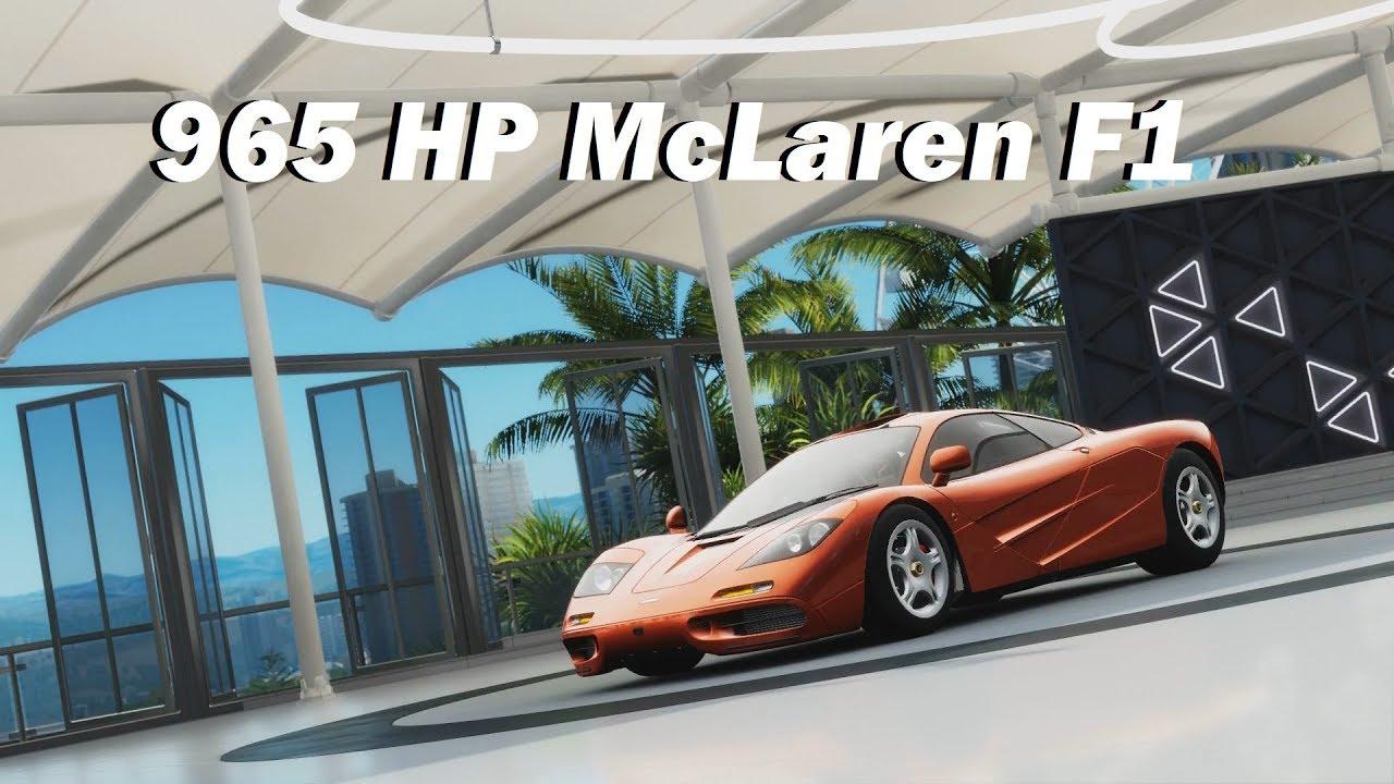 How Fast Will It Go? 1993 McLaren F1 (Forza Horizon 3) - YouTube