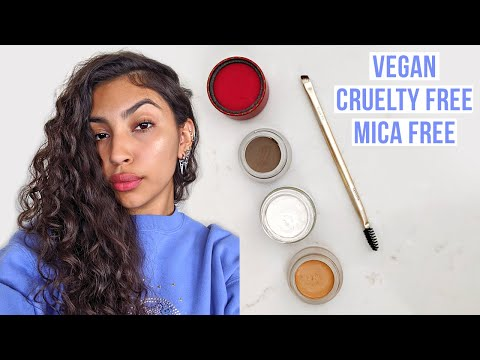 My Clean Makeup Routine :) vegan, cruelty free, mica free