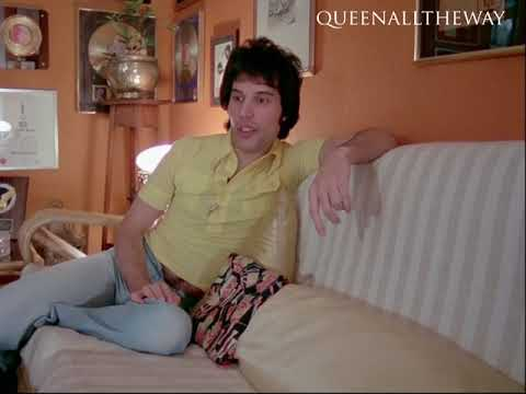 Freddie Mercury Interview w/ Bob Harris at Freddie's Home (1977) [Semi-Complete]