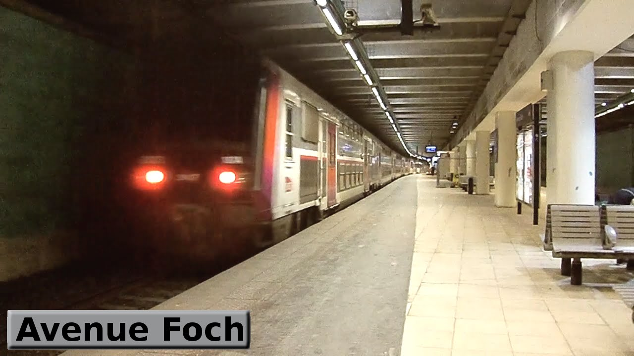 Avenue Foch | RER C : Paris ( SNCF Z5600 - Z20900 ) - YouTube