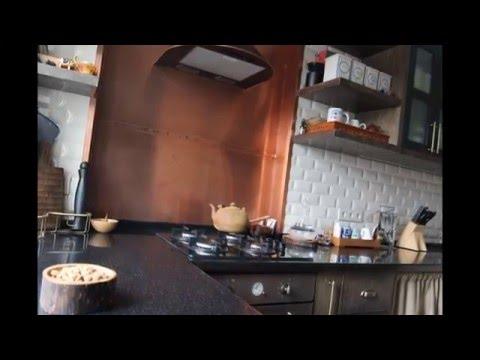 Кухня из дерева в стиле лофт, фото отчет из мастерских Marko Studio
