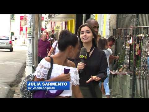 Calçadas mal conservadas em Salvador