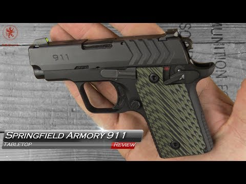 Springfield Armory 911 Tabletop Review and Field Strip