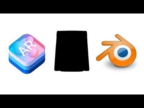 Using Blender to Bake Transparent Shadow for ARKit app.