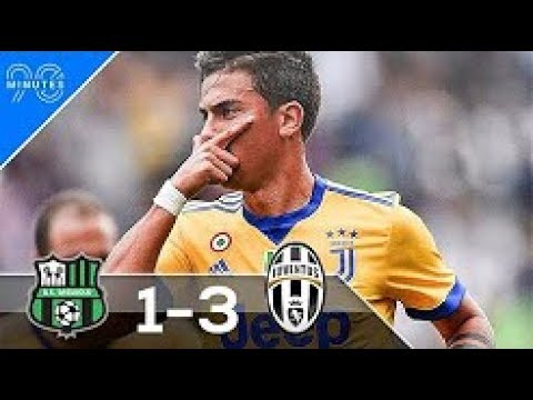 Sassuolo vs Juventus 1-3 Highlights & Goals - Serie A 17 Sep 2017