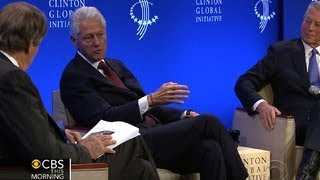 Bill Clinton, Al Gore talk climate change with Charlie Rose