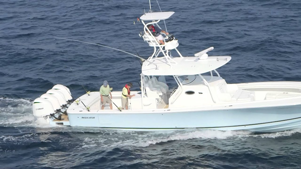 Regulator 41 Center Console For Sale By Kusler Yachts