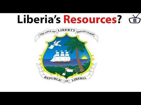 Major natural resources in Liberia