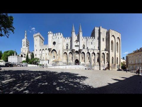Avignon : Le Palais des Papes HD