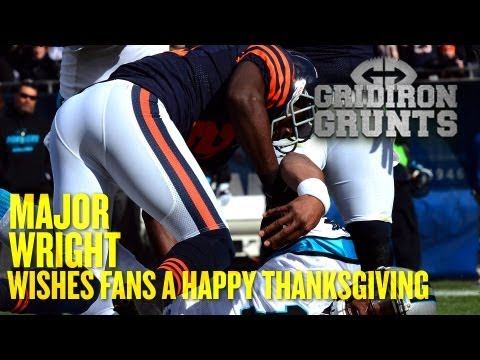 Major Wright Heads to Work on Thanksgiving to Prepare for Minnesota Vikings