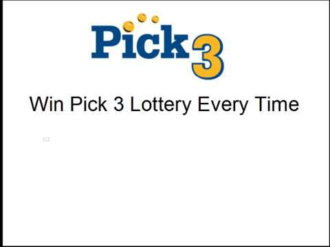 Win Pick 3 Every Day