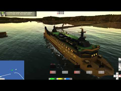 European Ship Simulator - Passenger Ferry from Dover to Cala