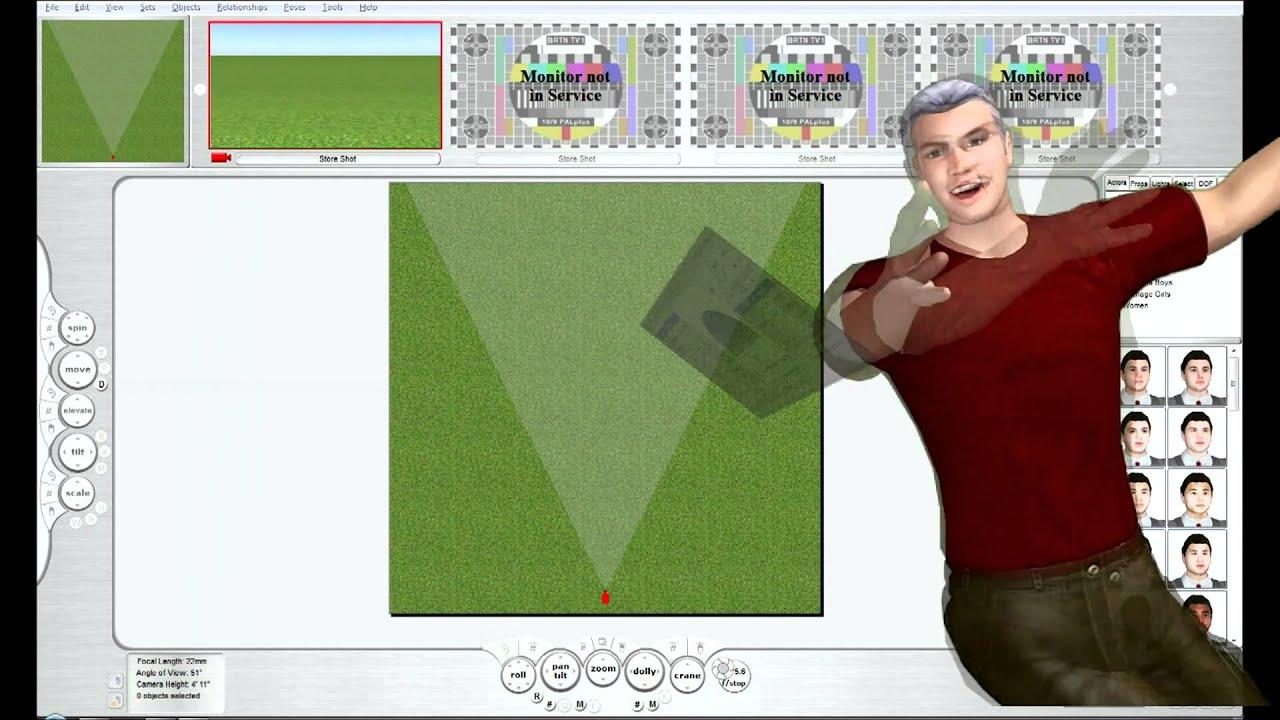 FrameForge Previz Video Tutorial-2B - Introduction to Set Building ...