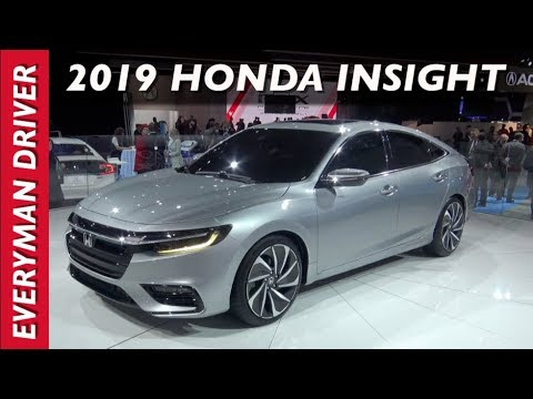 First Look: 2019 Honda Insight Hybrid Sedan Prototype on Everyman Driver