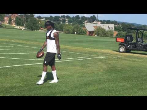 Martavis Bryant runs routes at Steelers camp