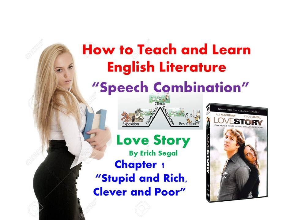 Love Story By Erich Segalchapter 1 Stupid And Rich Clever And Poor