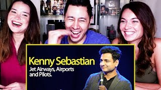 KENNY SEBASTIAN | Why Jet Airways Failed - Indigo, Pilots & Airports in India | Reaction!