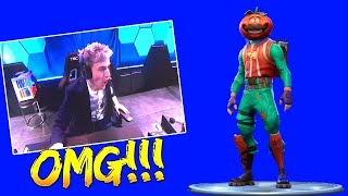 NINJA BUYS THE NEW TOMATOHEAD SKIN LIVE IN ESPORTSARENA (Fortnite Battle Royale)