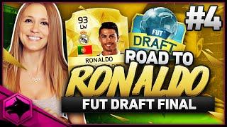 I MADE IT TO THE FUTDRAFT FINAL !! | FIFA 16 ROAD TO RONALDO