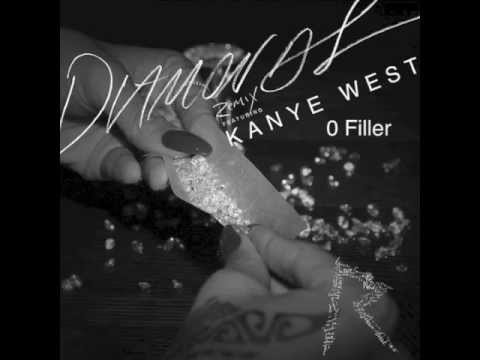 Rihanna  Diamonds Remix feat Kanye West