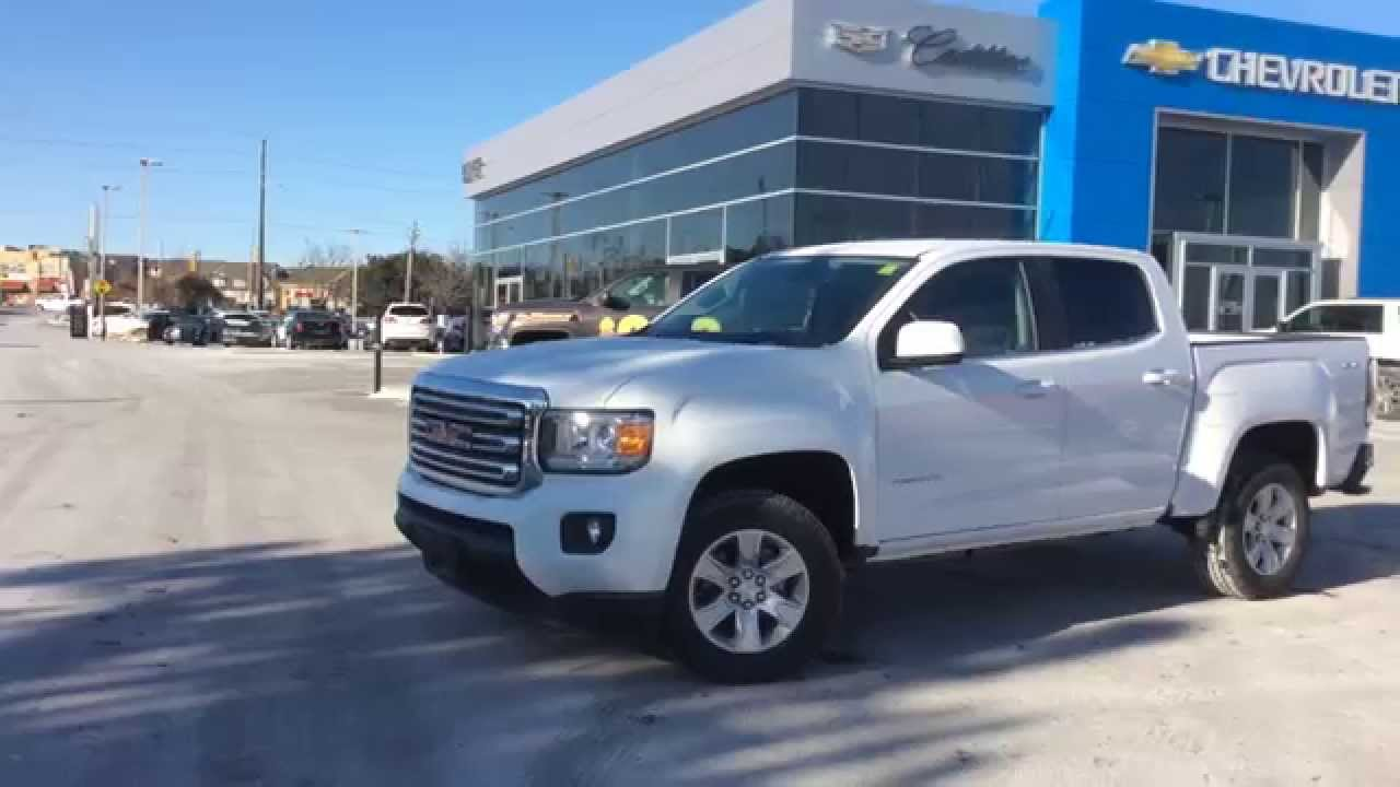 2015 GMC Canyon 4x4 Crew Cab SLE | Review - ON, CA | Boyer Auto Group - YouTube