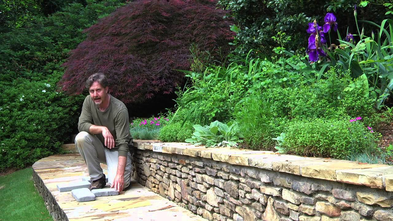 Paving stone river rock landscape pattern ideas landscaping materials techniques youtube