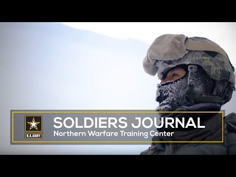 In the mountains of Alaska, the Northern Warfare Training Center teaches Soldiers how to thrive and conduct missions in arctic environments and subzero temperatures.