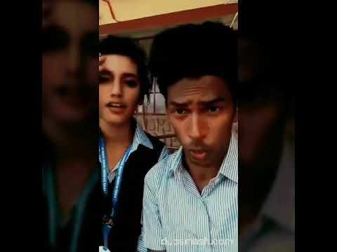 Oru adaar love actress dubsmash