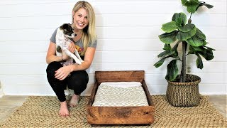 The $15 Pet Bed - Easy DIY Project