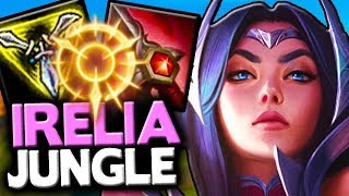 NEW IRELIA SO OP SHE GOT HOTFIXED - How to Play Rework Irelia Jungle - League of Legends