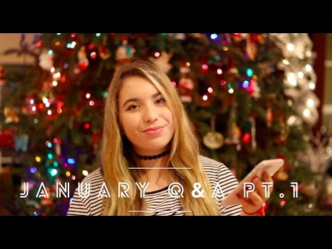 AP CLASS ADVICE, SAT PREP, BUYING STATIONERY, MOTIVATION TO STUDY?? January Q&A Pt.1