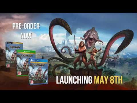 Conan Exiles Release Date Revealed For PS4,Xbox One & PC