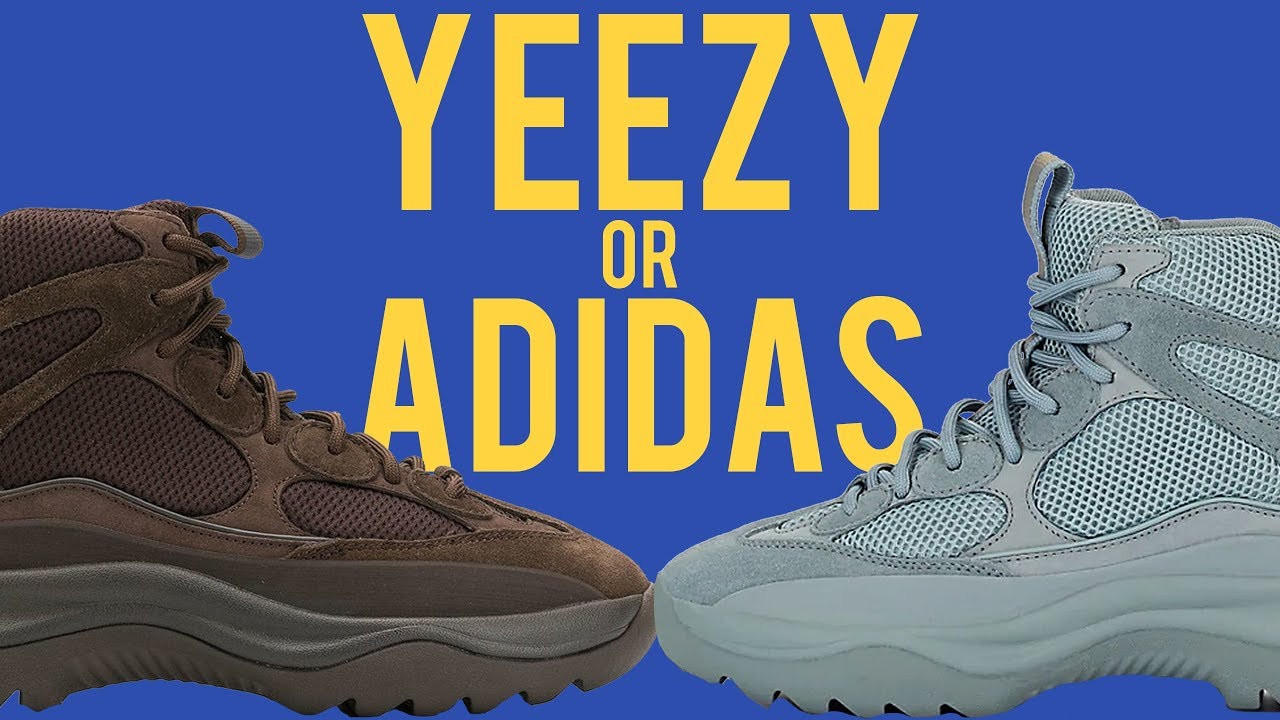 WHO MADE IT BEST??? ADIDAS YEEZY DSRT BOOTS VS YEEZY SEASON DESERT BOOTS