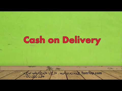 TOMTOP:Cash on Delivery