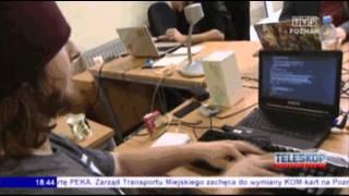 Программист С++ в репортаже по ТВ
