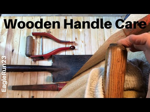 How to Restore Wooden Handles: Tool Care