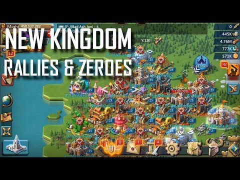 Lords Mobile F-J: New Kingdom Rallies & Zeroes
