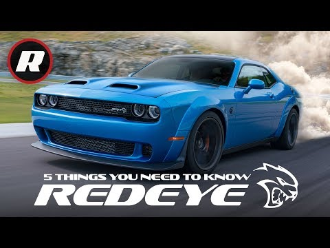 2019 Dodge Challenger SRT Hellcat Redeye: 5 things to know about this demon born cat