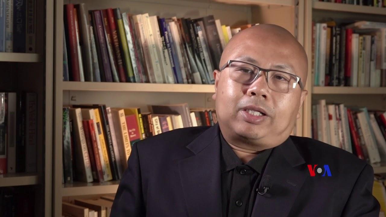 """美國之音專訪孔誥烽 (4) - """"經濟牌""""對香港新生代已經無效 - YouTube"""