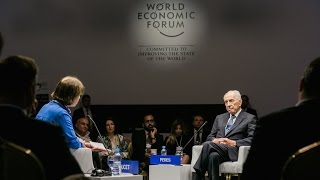 Jordan 2015 - A Conversation with Shimon Peres